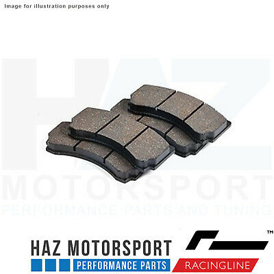 Racingline Performance 4 Pot Big Brake Kit TRACK Replacement Pads (Track Only)