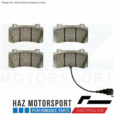 Racingline Performance 4 Pot Brake Kit SPORT PLUS Replacement Pads (Road/Track)