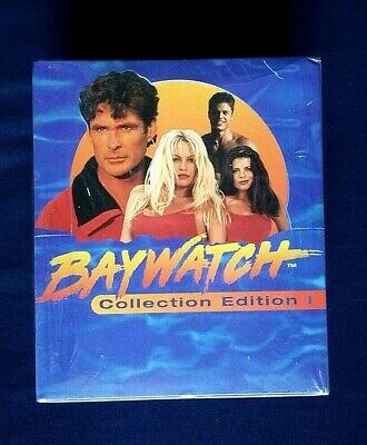 1995 Sports Time Inc Baywatch Collection Edition Trading Cards Sealed Box 36 Pks