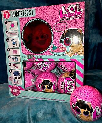 LOL SURPRISE DOLLS PETS EYE SPY SERIES 4 Wave 2 NEW SEALED UNSEARCHED