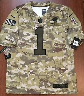 new style 1647c 6248c NWT CAM NEWTON Carolina Panthers Salute to Service Nike ...