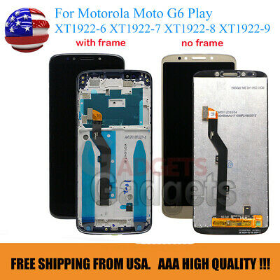 For Motorola Moto G6 Play XT1922-7 XT1922-9 LCD Touch Screen Replacement Display