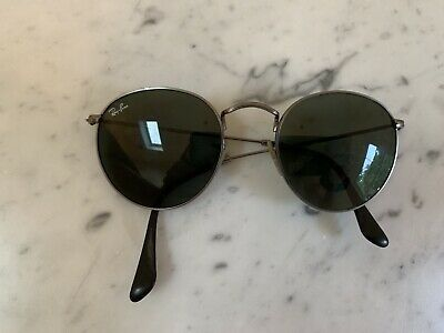 New Vintage Ray Ban John Lennon Style W1575 Antique Pewter Classic Metals B&L