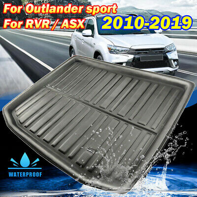 Boot Liner Tray Cargo Rear Trunk Floor Mat Carpet For Mitsubishi ASX 2010-2019
