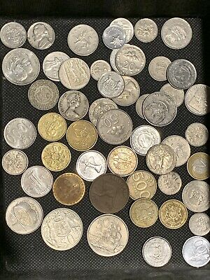 Mixed World Coin Bulk Great Mix Old + Vintage