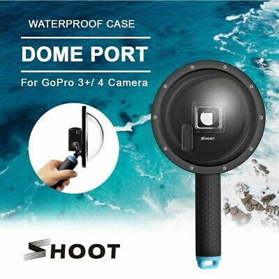 SHOOT 6 inch GoPro Dome Port Diving for GoPro Hero 3+/ 4 Black LCD screen