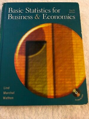 Basic Statistics For Business & Economics Fourth Edition With Cd