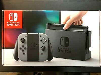 Nintendo Switch 32GB Gray Console (with Gray Joy-Cons)