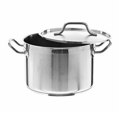 FDT525 Stockpots Quality 5 Stainless Steel with Reinforced Pouring Lip 12L 25...