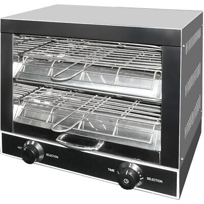 Commercial Compact StainlessToaster / Griller / Salamander New with 2 Shelves