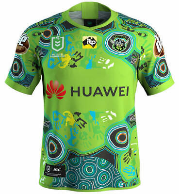 Canberra Raiders 2019 Indigenous Jersey Sizes 4XL + Kids 8 NRL ISC SALE