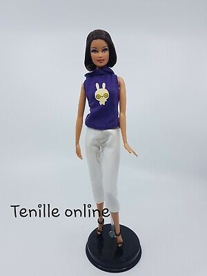 New Barbie doll clothes fashion outfit hoodie pants bunny logo AU seller