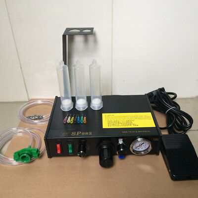 220V Automatic Mode Dispenser Controller Cacuum Suction Function Digital Display