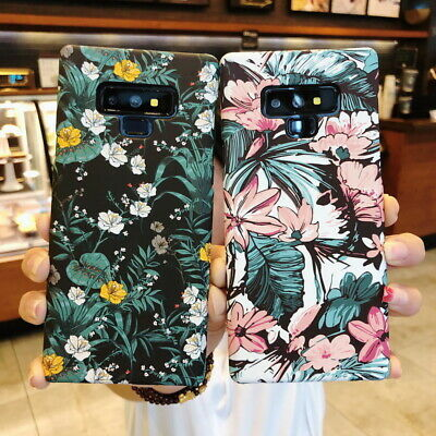 For Samsung Galaxy S10 S9 S8 Plus Note 8 9 Matte Slim Shockproof Hard Case Cover