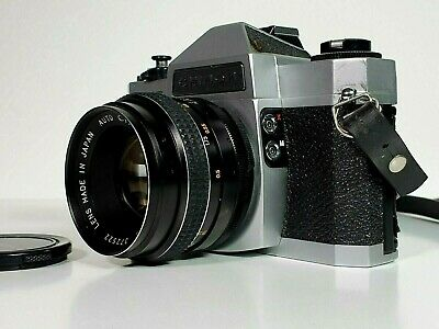 CHINON  CXII Camera with Auto Chinon 1:1.7 f:55mm Lens, Made in Japan