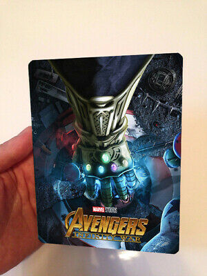 AVENGERS INFINITY WAR  Magnet cover for Steelbook (NO LENTICULAR)