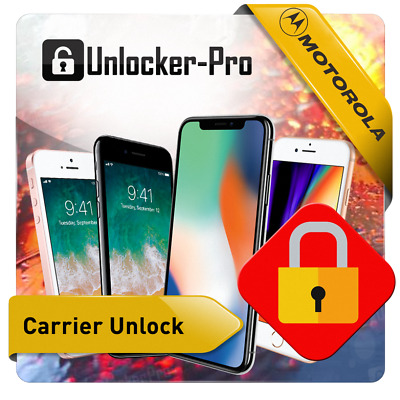 Worldwide Unlock Code  Motorola Moto Z2 E4 Plus E5 E5 Play E5 Plus G6