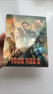 IRON MAN 3 Magnet cover for Steelbook (NO LENTICULAR)