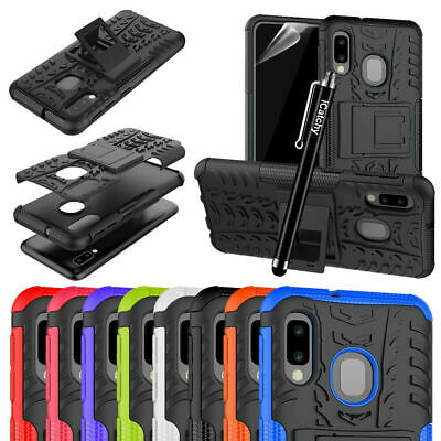 Heavy duty Shockproof Hybrid Armor Tough Back Cover For Samsung Galaxy Case