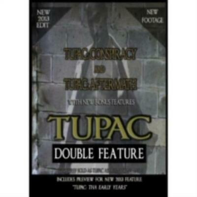 2PAC: DOUBLE FEATURE - CONSPIRACY & AFTERMATH (Region 1 DVD,US Import,sealed.)