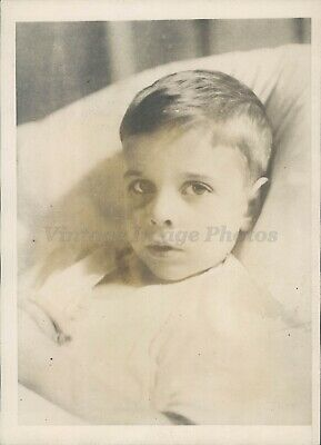 1926 Photo Thomas Rice Master Son Child Reverend Raymond Missionaries India