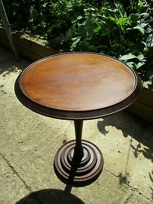 Fab Damaged Antique Victorian (?) Vintage Mahogany (?) Side Coffee Table Project