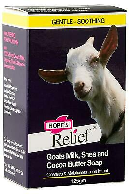 Hope'S Relief Goat's Milk Soap 125g Pack of 12