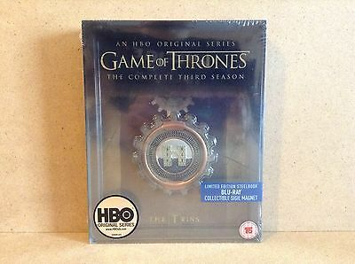 Game Of Thrones - Complete Third Season Limited Edition Steelbook (Blu-ray) NEW!