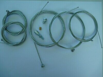 8 Piece Inner Cable Set To Fit Vespa PX PE T5 LML Rally Super Sprint Smallframe