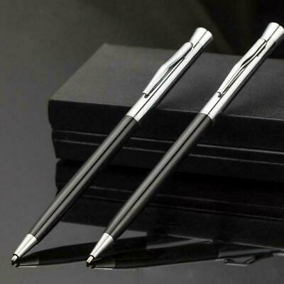 Creative Steel Ballpoint Pen Office Ball Point Writing Stationery Student P F3D1