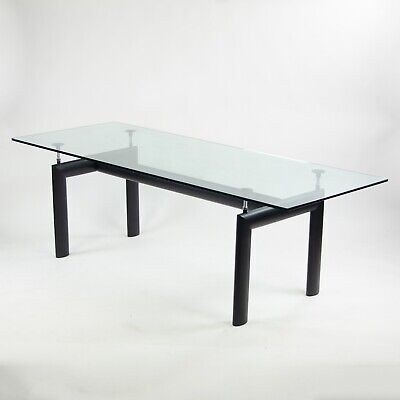 2000's Le Corbusier Perriand Jeanneret Cassina Italy Dining Table 88 in