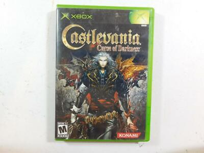 Castlevania: Curse of Darkness (Xbox, 2005) TESTED WORKING