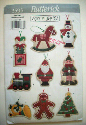 Lot Of 19 Christmas Craft Patterns Sewing Crafts Snowman