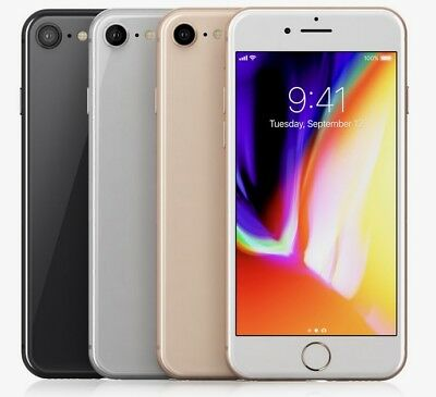 "Apple iPhone 8+ Plus - 64GB 256GB GSM (T-Mobile / Metro PCS ONLY"") Smartphone"