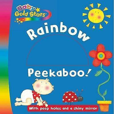 Baby Gold Stars Diecut Board: Rainbow Peekaboo,  , Acceptable   Fast Delivery
