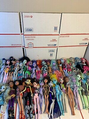 20 Monster high doll lot used