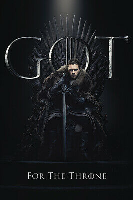 Game Of Thrones (Jon pour The Throne) Maxi Poster PP34491 61cm x 91.5cm