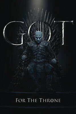 Game Of Thrones The Nuit King pour The Throne Maxi Poster PP34493 61cm x 91.5cm