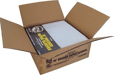 "(500) 12"" Record Outer Sleeves EXTRA HEAVY DUTY 4mil Vinyl LP Covers CPP #12SP04"