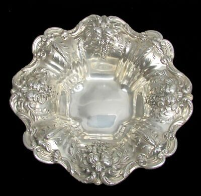 REED & BARTON FRANCIS 1st STERLING SILVER CANDY DISH / BOWL # X569