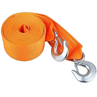 SELECTEC Tow Rope Towing Belt Heavy Duty Tow Strap 8 Tonne, 6 Meter Length Rope