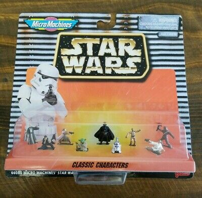 Star Wars Micro Machines CLASSIC CHARACTERS Galoob Figure Set MOC #66080 1996