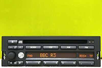 Bmw Business Rover Mg Cd Radio Player Car Stereo Code E31 E36 E34 Z3 M3 M5 Cd43