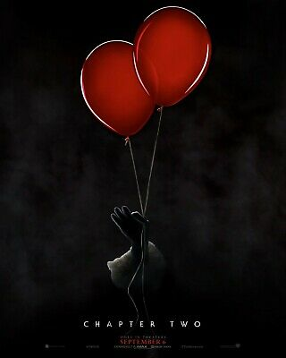 It Chapter Two Original Movie Poster - Advance Style - Skarsgard James McAvoy