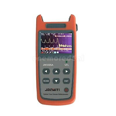 JW3305A Mini Optical Time Domain Reflectometer OTDR Visual Fault Locator od34