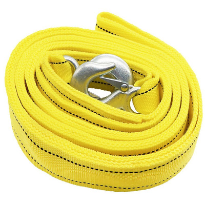 Double Thick Heavy-Duty car Towing Rope,Tow Belt Strap cable 5 Tonne,4 Meter