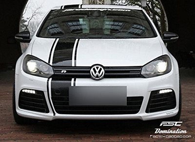 DOKOT 125 x 25cm Rally Stripe Stickers Sports Racing Decal for Car Hood, Bonnet,
