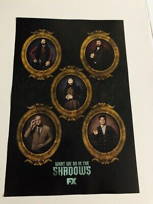 """SDCC 2019 What WE DO IN THE Shadows Poster Comic Con Exclusive 12""""X18"""" FOX"""
