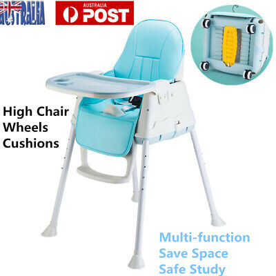 3 in 1 Infant Baby Highchair Sturdy Dining High Chair Child Eating Feeding Seat