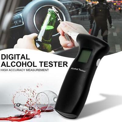 AU Digital Breath Alcohol Analyzer Tester LCD Breathalyzer Test Detector